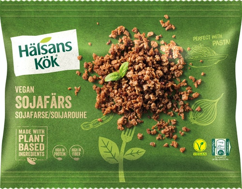Hälsans Kök Vegan Sojafarse 300 g