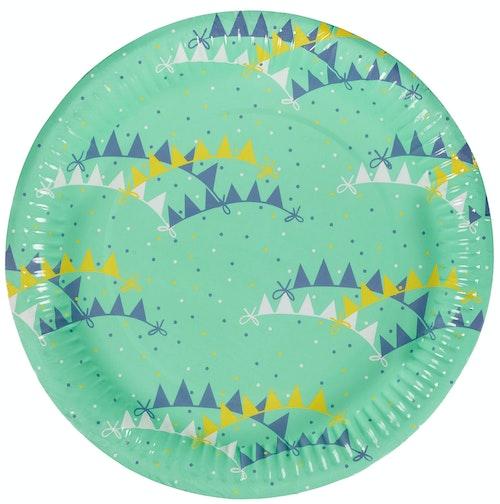 REMA 1000 Papptallerken 22 cm, 8 stk