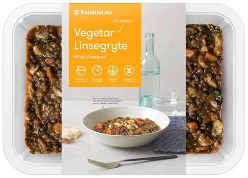 Gastro Kitchen Linsegryte Fiks ferdig, 2 Porsjoner, 800 g