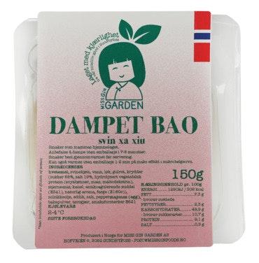 Dampet Bao Bolle Fylt Med Svinkjøtt, 150 g