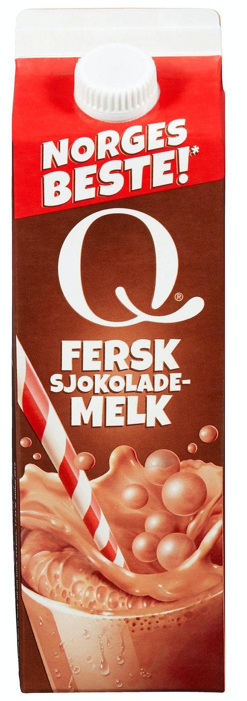 Q-meieriene Q-sjokolademelk 1 l