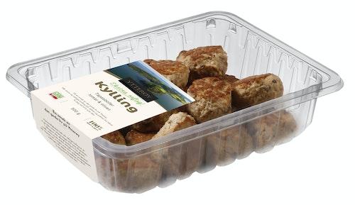 Ytterøy Kylling Tapasboller av kylling, Med Soltørket tomat og oliven, 300 g