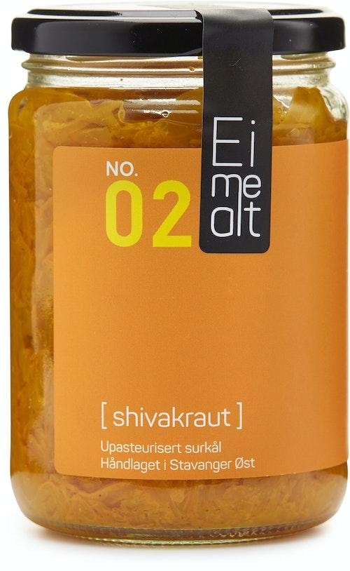 Eimealt Shivakraut Upasteurisert Surkål, 390 ml