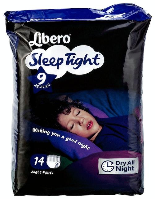 Libero Libero Sleep Tight S9, 22-37 kg, 14 stk