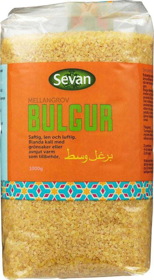 Sevan Bulgur Mellomgrov Midyat, 1 kg