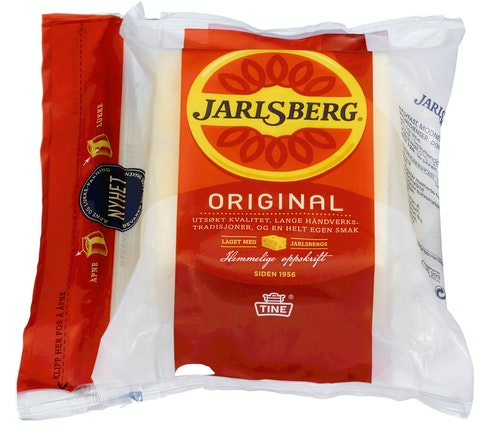 Tine Jarlsberg Skorpefri, 450 g