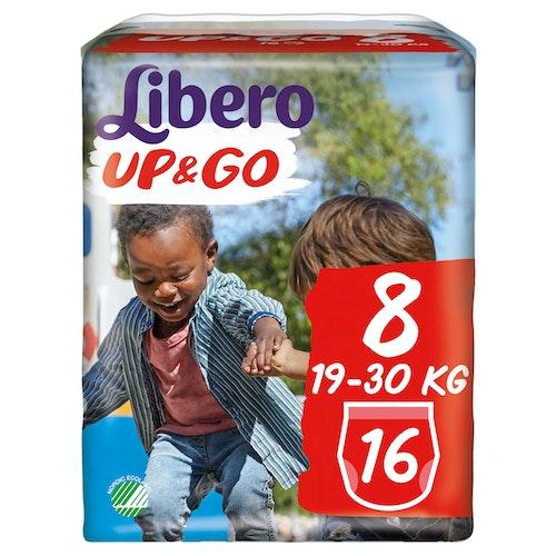 Libero Libero Up&Go Str.8 19-30kg, 16 stk