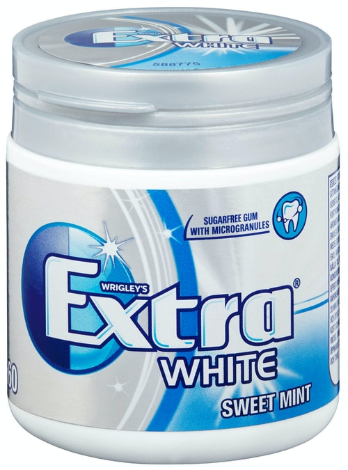 Extra Extra White Sweetmint 84 g