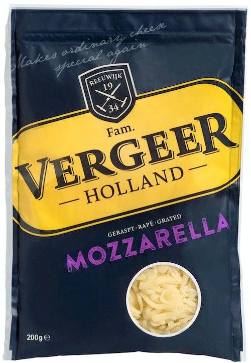 Vergeer Mozzarella Revet 200 g