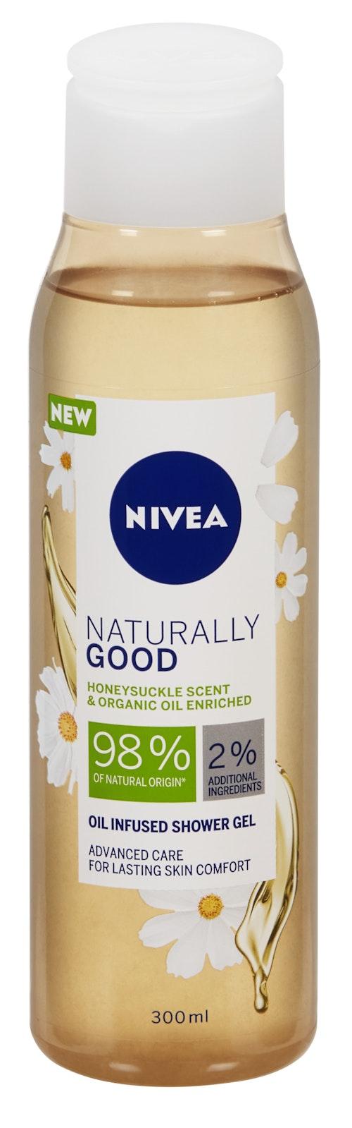 Nivea Shower Naturally Good Honeysuckle 300 ml