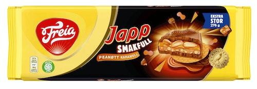 Freia Japp Smakfull Peanøtt og Karamell 276 g