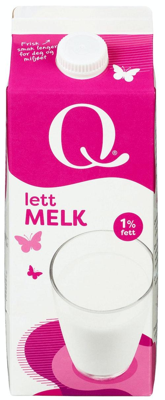Q-meieriene Q Melk Lett 1,75 l