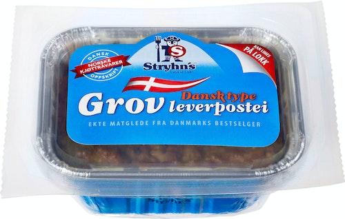 Stryhn´s Dansk Grov Leverpostei 190 g