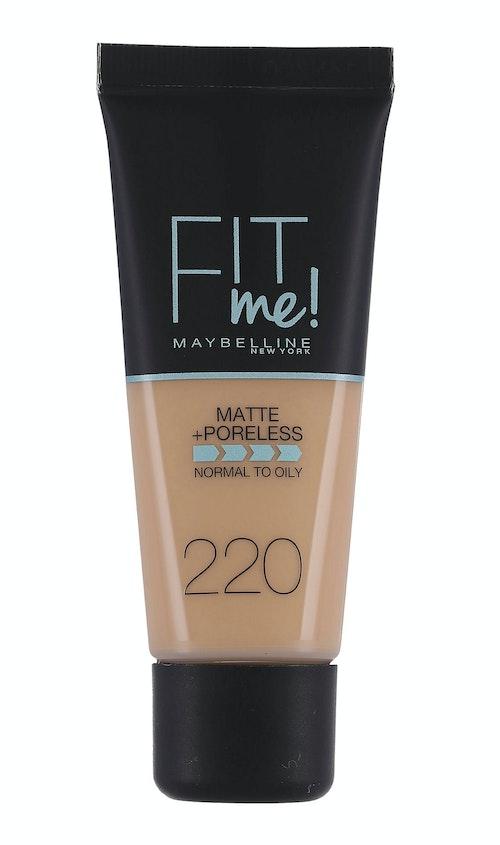 Maybelline Fit Me Matte & Poreless Natural Beige Foundation 1 stk