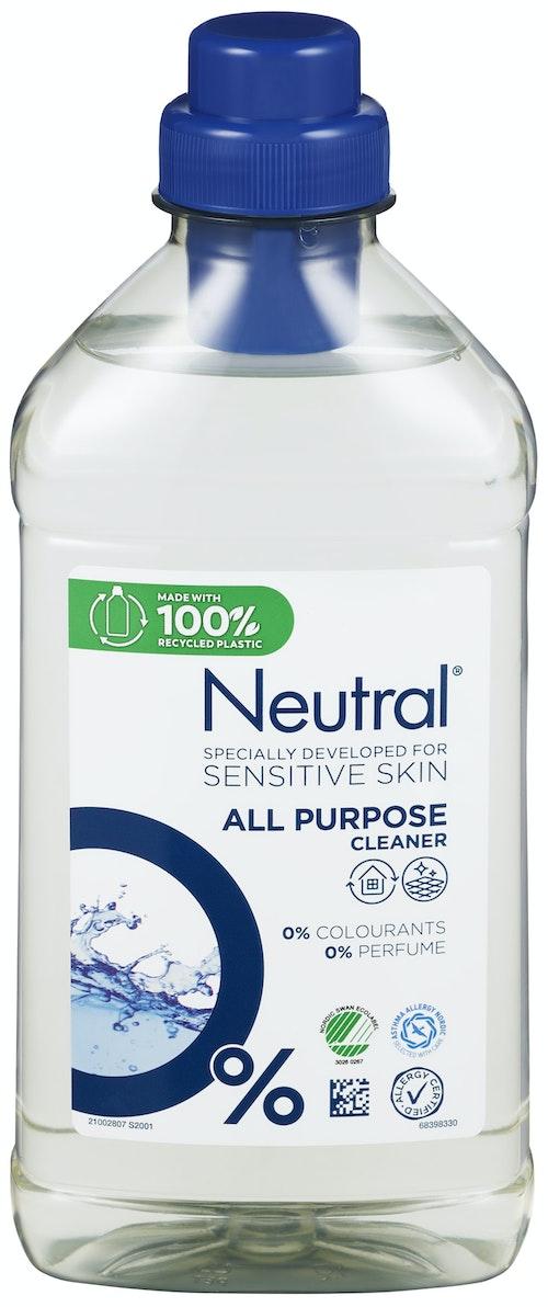 Neutral Neutral All-Purpose Surface Cleaner Rengjøring til alle overflater, 750 ml