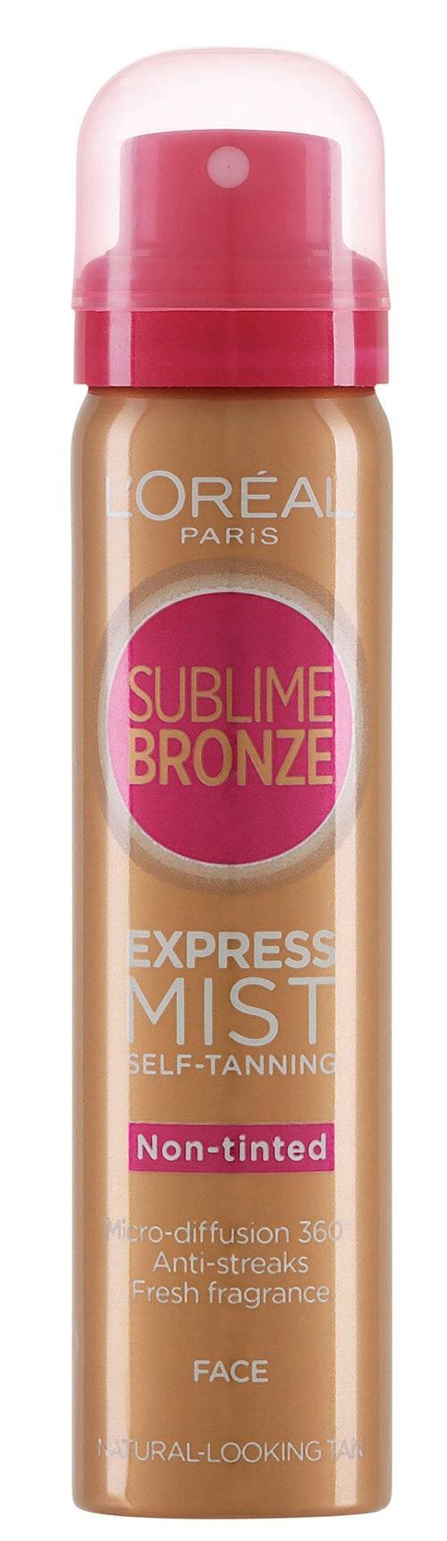 L'Oreal Sublime Bronze Self-Tan Express ProFace 75 ml