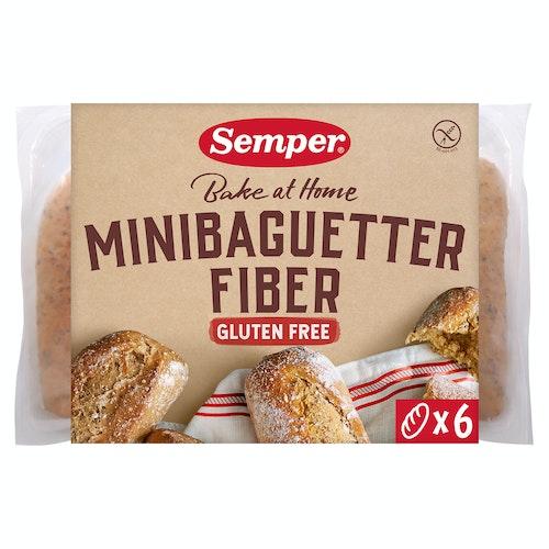 Semper Fiberbaguetter Glutenfri, 300 g