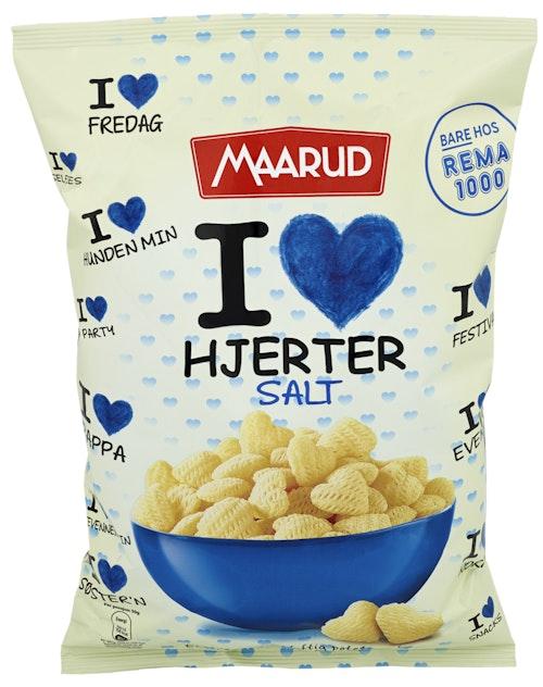 Maarud I Love Hjerter Salt 120 g