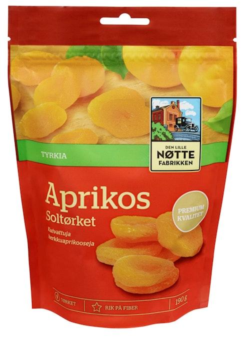Den Lille Nøttefabrikken Aprikos Tørket 190 g