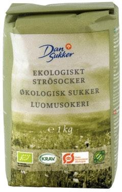Dansukker Sukker Økologisk, 1 kg