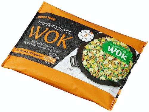 REMA 1000 Indisk-inspirert Wok 500 g