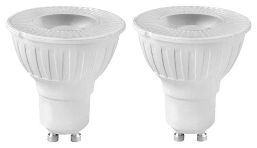 Clas Ohlson LED-pære GU10 4w, 230lm, 2 stk