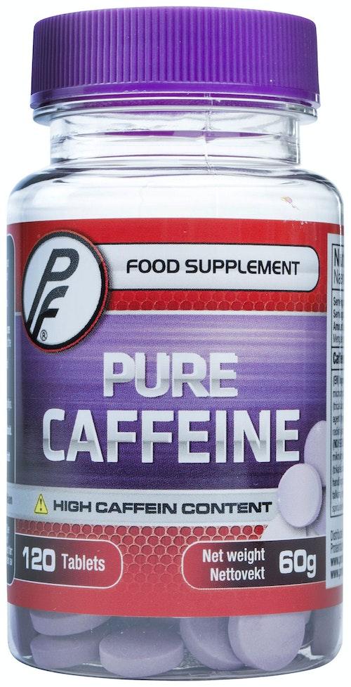 Proteinfabrikken Pure Caffeine Kosttilskudd 120 stk