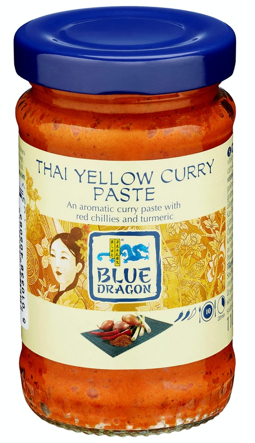 Blue Dragon Yellow Curry Paste 110 g