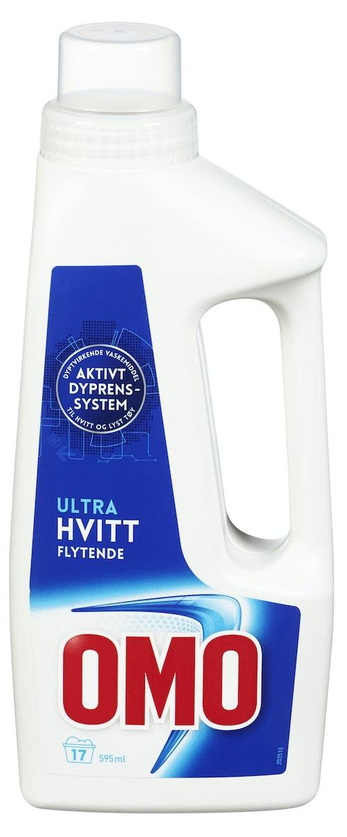 OMO Ultra Hvitt Flytende, 595 ml