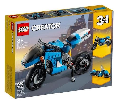 LEGO LEGO Creator Supermotorsykkel 1 stk