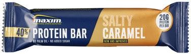 Maxim Maxim 40% Salty Caramel Proteinbar, 50 g
