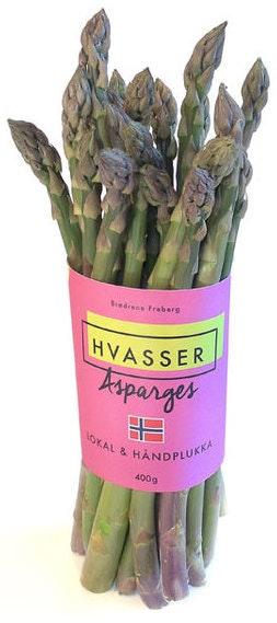 Asparges fra Hvasser Norsk, 250 g