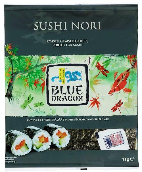 Blue Dragon Sushi Nori 5 ark, 11 g