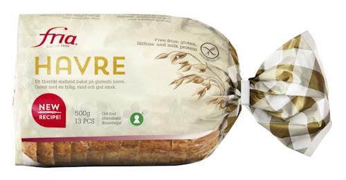 Fria Havrebrød Glutenfri, 500 g