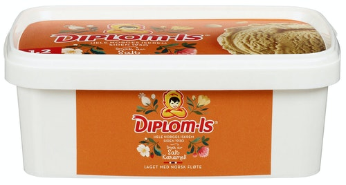 Diplom-Is Favoritter Salt Karamell 1,2 l