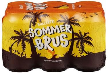 Aass Bryggeri Aass Sommerbrus Sukkerfri 6 x 0,33l, 1,98 l