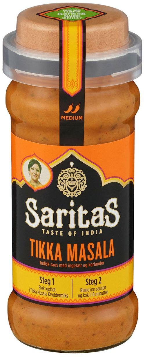 Saritas Tikka Masala med Kryddermiks Medium, 360 g