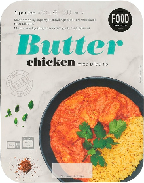 Food Collective Butter Chicken 450 g