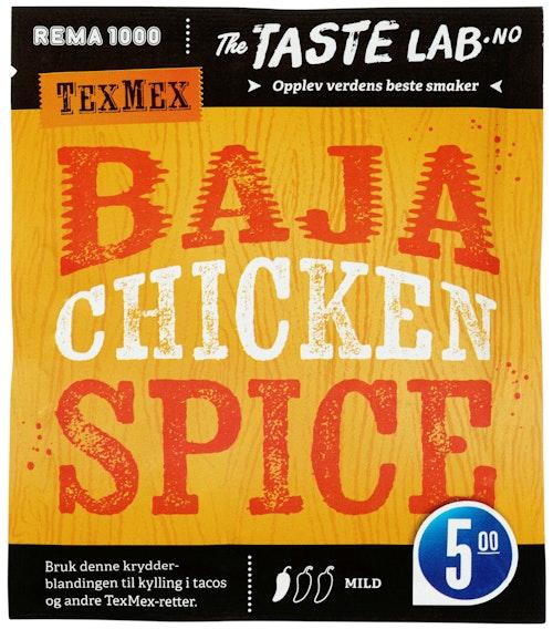 REMA 1000 Kryddermiks Kylling Taste Lab, 30 g