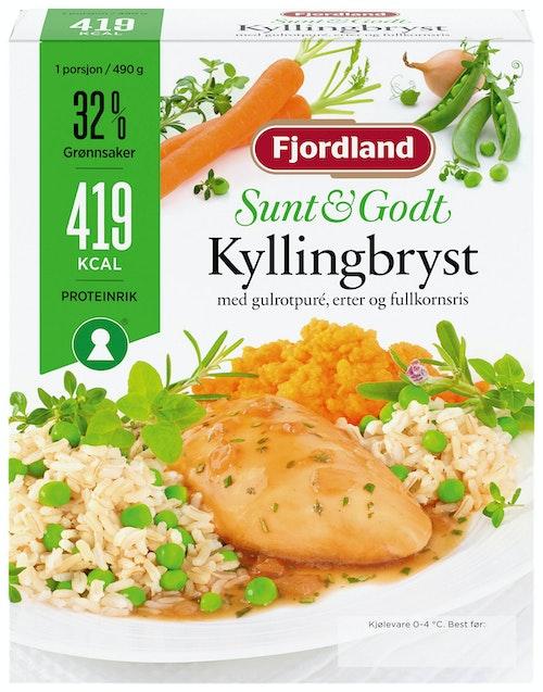 Fjordland Sunt & Godt kyllingbryst 490 g