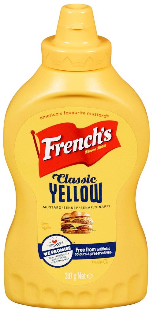 French's Classic Yellow Mustard 397 g