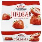 Yoghurt Jordbær