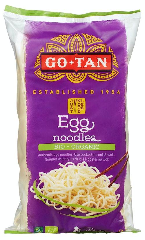 Go Tan Eggnudler Økologisk, 250 g