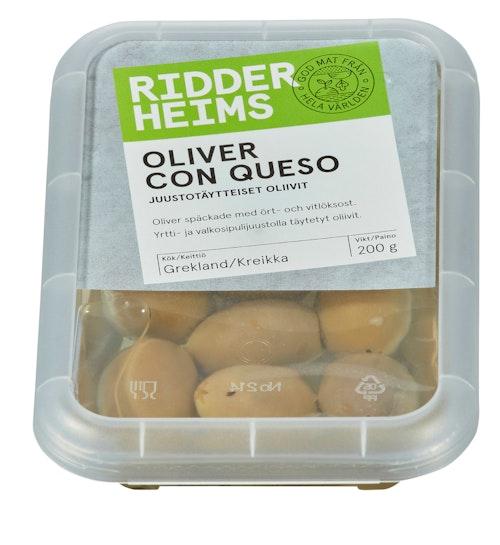 Ridderheims Oliven Con Queso 200 g