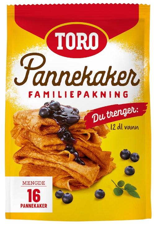 Toro Pannekaker Familiepakning 522 g