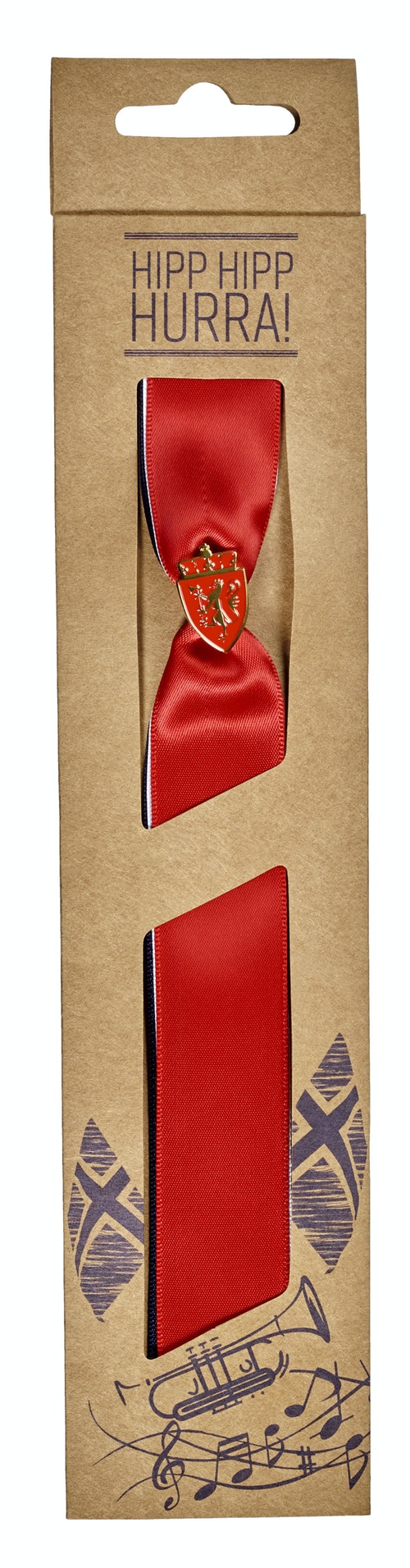 17 Maisløyfe med Riksvåpen Pin 21 cm, 1 stk