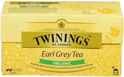 Twinings Twinings Earl Grey Økologisk, 25 stk