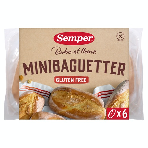 Semper Minibaguetter Glutenfri, 300 g