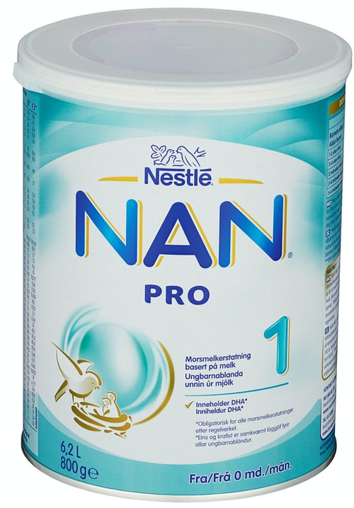 Nestlé NAN Pro 1 Fra fødselen, 800 g