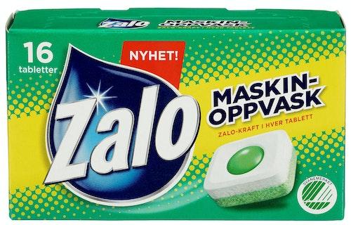 Zalo Maskinoppvask tabletter, 16 tablett